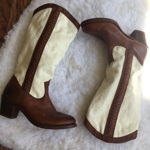 Frye Jane Braid Western boots